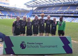 Year 8 Girl's Football Team Premier League School's Tournament