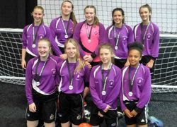 U14 Girls achieve 3rd place in the National Futsal Finals