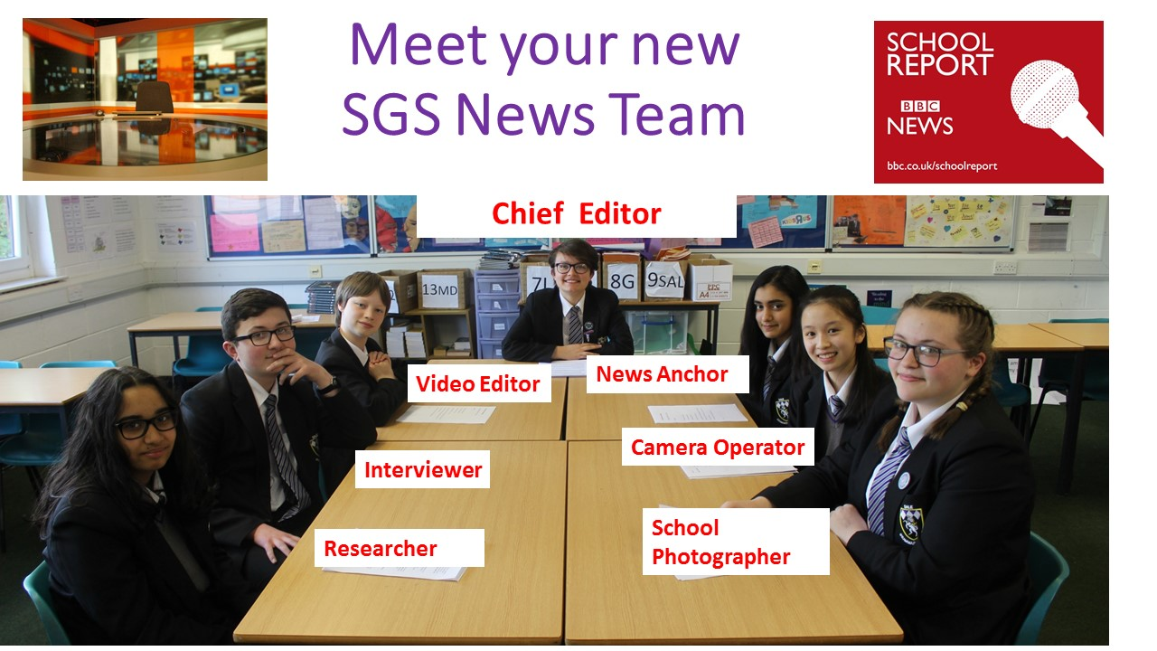 Meet your new sgs news team