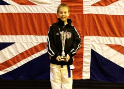 Year 7 Student becomes British Karate (Kata) Champion