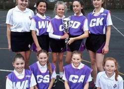 Y7 Netball Team are Trafford Champions