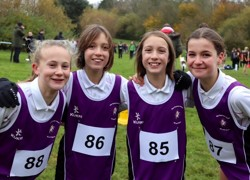 Year 8 Girls Cross Country Team