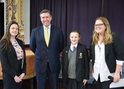 Graham Brady MP Visits Sale Grammar