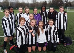 Year 7 Girls Football Team success