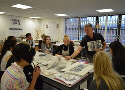 Artist workshop with Ian Murphy