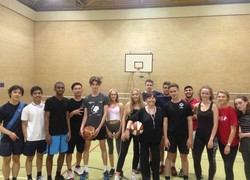 Interhall Basketball Winners