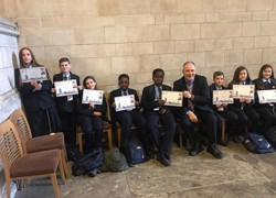 School councillors visit Parliament