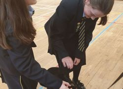 Students to name guide dog