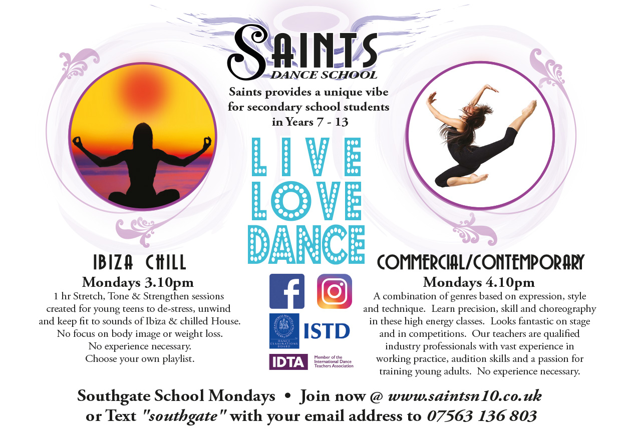 Saints online flyer southgate