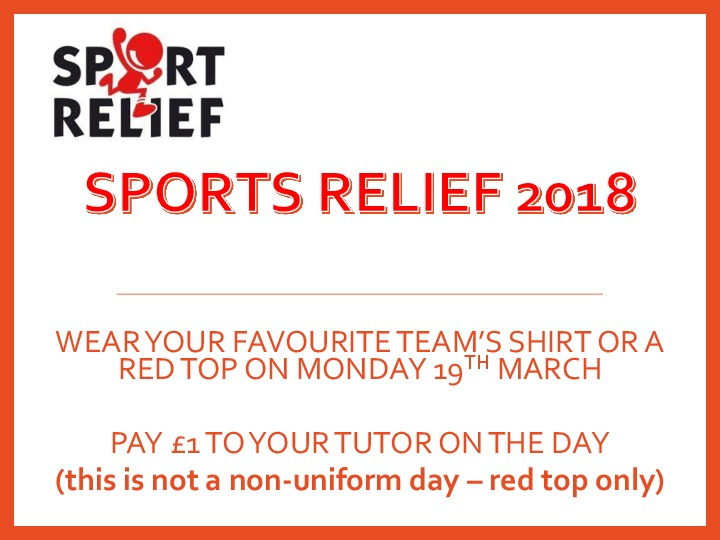 Sports relief web