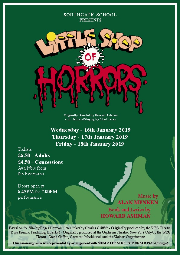 Southgate 07littleshopofhorrors poster