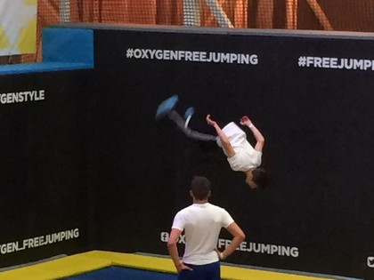 Oxygen Free Jumping