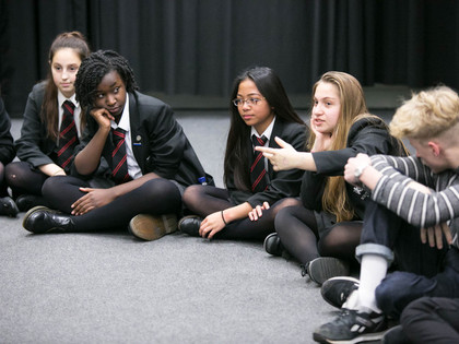Old Vic New Voices Workshop