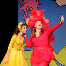 Seussical maizie and gertrude