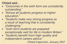 6th form quotes ofsted