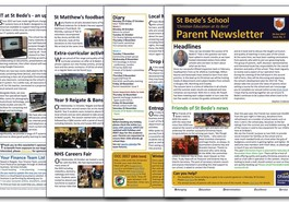 Latest parent newsletter available to read