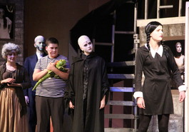The Addams Family show - a huge success