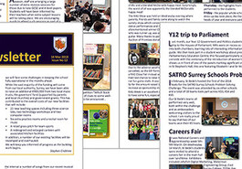 Latest parent newsletter (issue 12) now available
