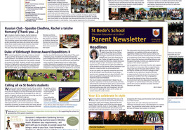 Latest parent newsletter (issue 16) now available to read