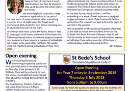 Latest parent newsletter (issue 17) available to view