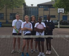 Y7 8 girls tennis