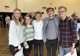 A great set of A level results