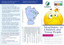 Surrey head injury leaflet