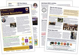 Latest parent newsletter (issue 09) available - please read