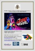 Lego movie 2 invite