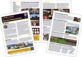 Parent newsletter (issue 14) available to read