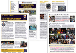 Parent newsletter (issue 15) available to read