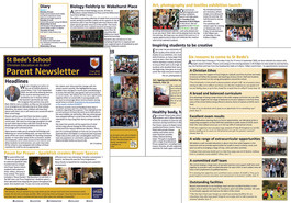 Parent newsletter (issue 16) available to read