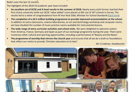 NEW St Bede's School Annual Review 2018-19