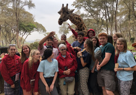Sixth form trip to Tanzania