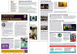 Parent newsletter (issue 05) now available - please read