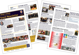 Latest parent newsletter (Issue 08) now available