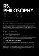 Rs philosophy ethics 21