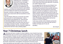 Latest parent newsletter (issue 07) available