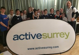 Surrey young sports leaders' day attended by St Bede's pupils