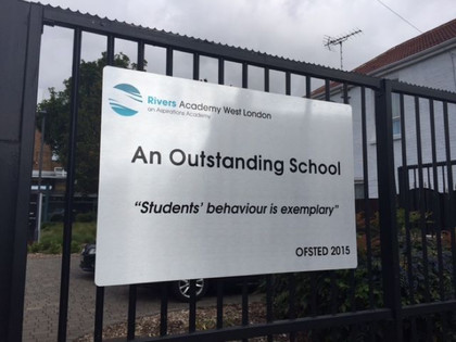 "Rivers Academy Graded ""Outstanding"" 2015"