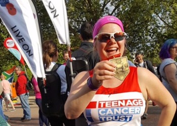 Congratulations to Mrs Austin for completing the London Marathon!