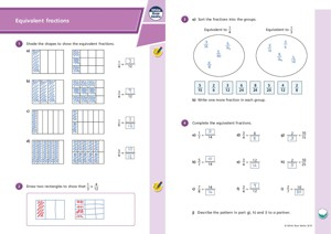 Lesson 2 Answers Equivalent fractions 2019