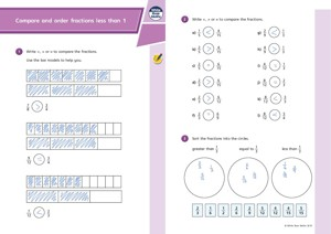 Lesson 4 Answers Compare and order fractions less than 1 2019