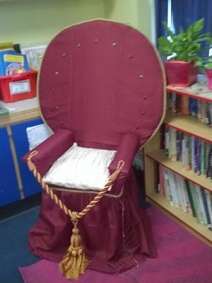 20 tudor throne book corner