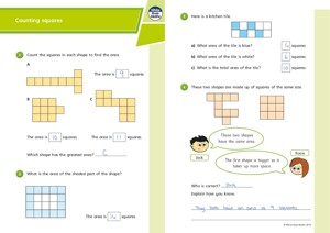 Lesson 4 Answers Counting squares 2019