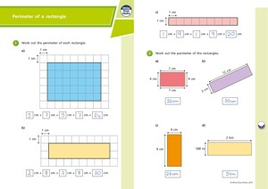 Lesson 2 Answers Perimeter of a rectangle 2019