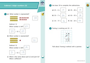 Lesson 3 Answers Subtract 2 digit numbers (2) 2019