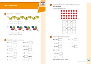 Lesson 1 The 4 and 8 times tables 2019