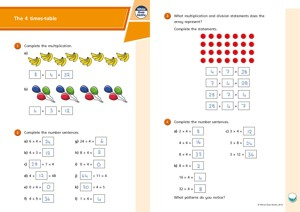 Lesson 1 Answers The 4 and 8 times tables 2019