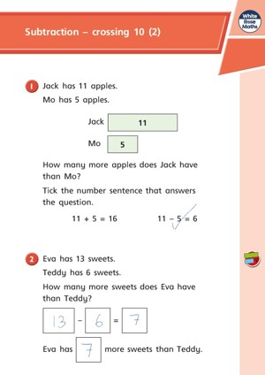 Lesson 3 Answers Subtraction   crossing 10 (2) 2019